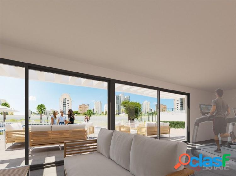 Apartamentos en playa de calpe de 3 dormitorios en venta