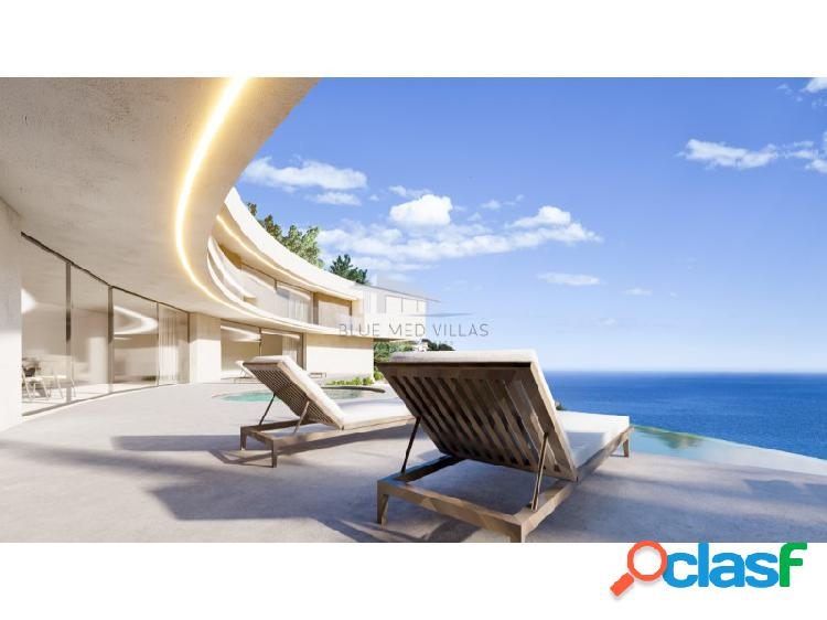 Proyecto de villa de lujo con vistas al mar en venta en Javea 1