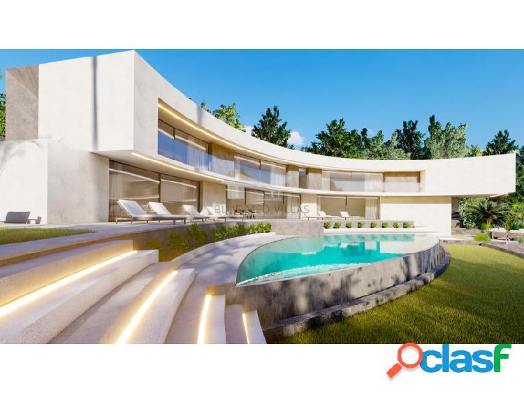 Proyecto de villa de lujo con vistas al mar en venta en Javea 2