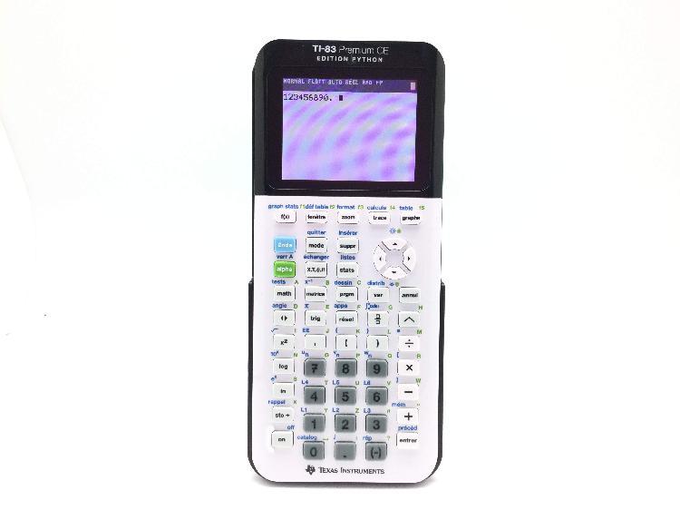 Calculadora cientifica texas instruments ti-83 premium ce