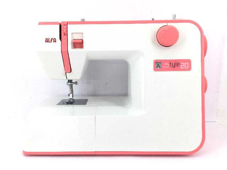 Maquina coser alfa style 20