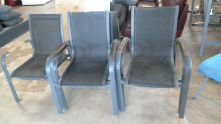 Compre la oportunidad de fauteuil jardin gris