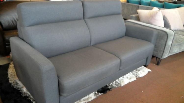 Compre la oportunidad de sofá cama tejido gris
