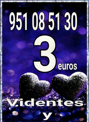 Videntes telefónico visa3 euros