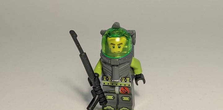 Atlantis diver axel 8056 8060 - lego atlantis lego