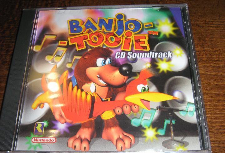 Banjo-tooie cd soundtrack - nueva y precintada - nintendo 64