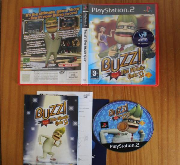 Buzz the music quiz. ps2 playstation 2