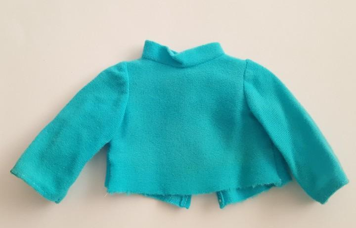Camiseta azul años 70 posiblemente de un conjunto de nancy