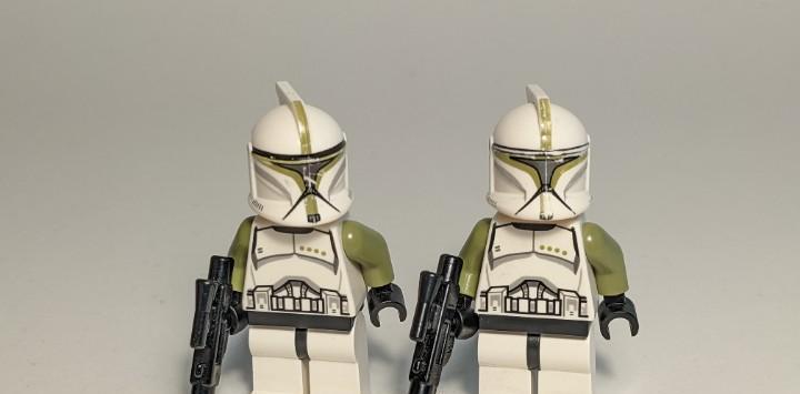 Clone trooper sergeant 75000 - lego star wars lego