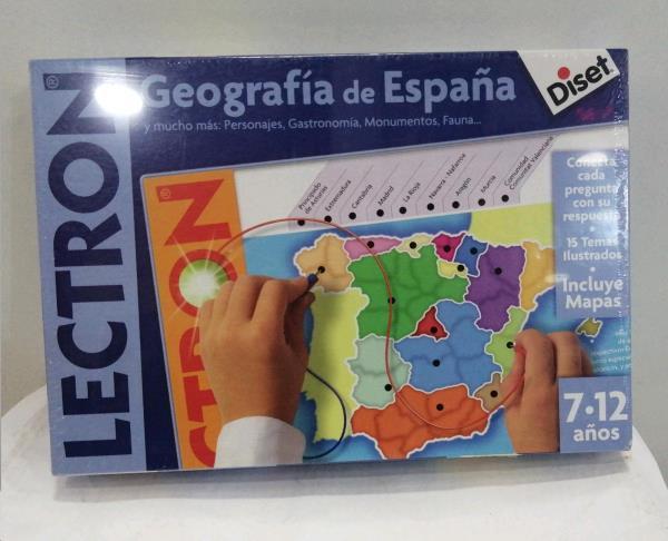 Lectron geografia de españa