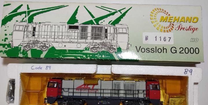 Locomotora diesel mehano vossloh g2000 escala h0 digital
