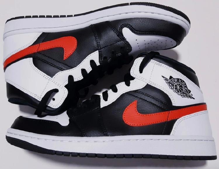 Nike air jordan 1 mid chile red 43