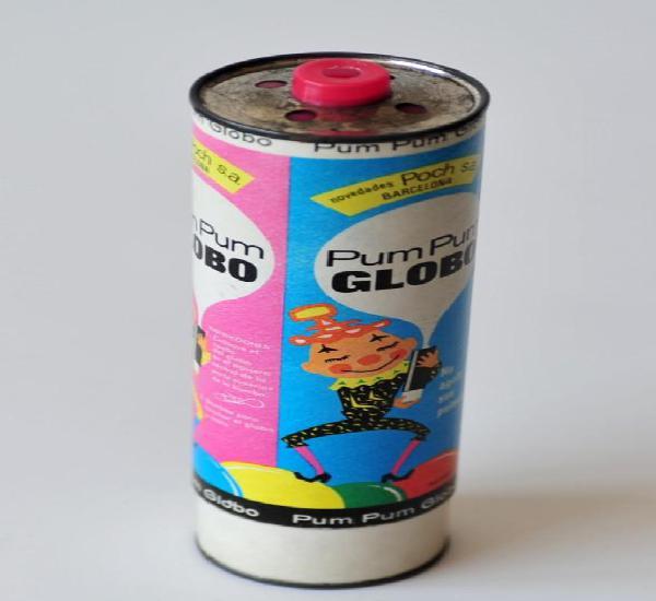 Original inflador vintage para globos. pum pum globo,