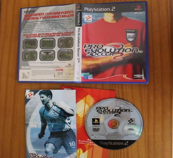 Pro evolution soccer 2. ps2 konami playstation 2