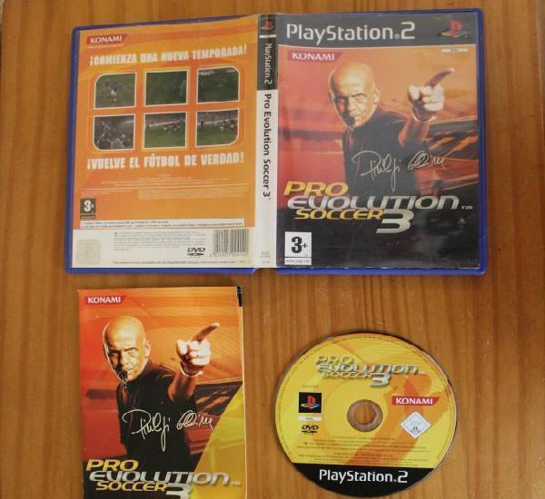 Pro evolution soccer 3. ps2 konami playstation 2