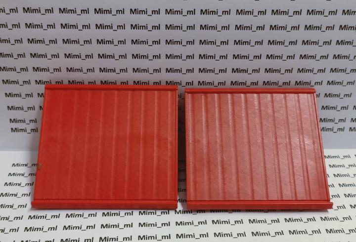 Playmobil 3175 2 secciones grandes tejado rojo system x