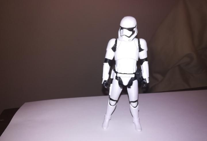 Soldado imperial figura de accion hasbro star wars