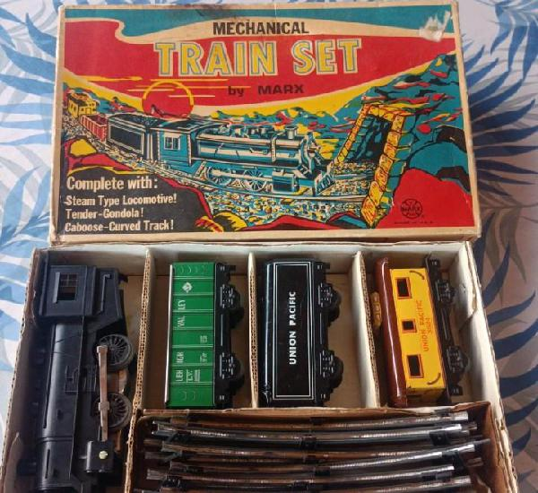 Tren de juguete mecánico marx