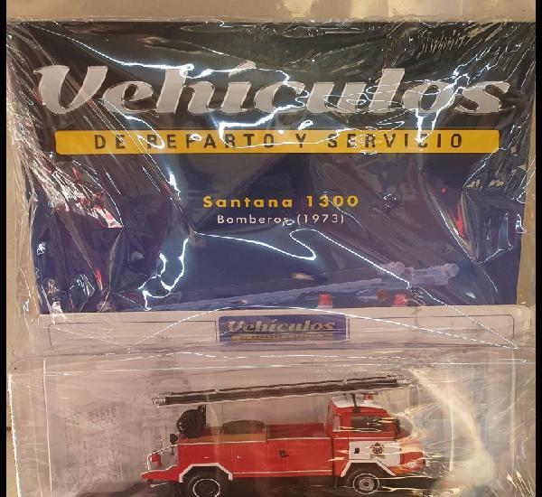 Vehiculos de reparto. santana 1300. bomberos