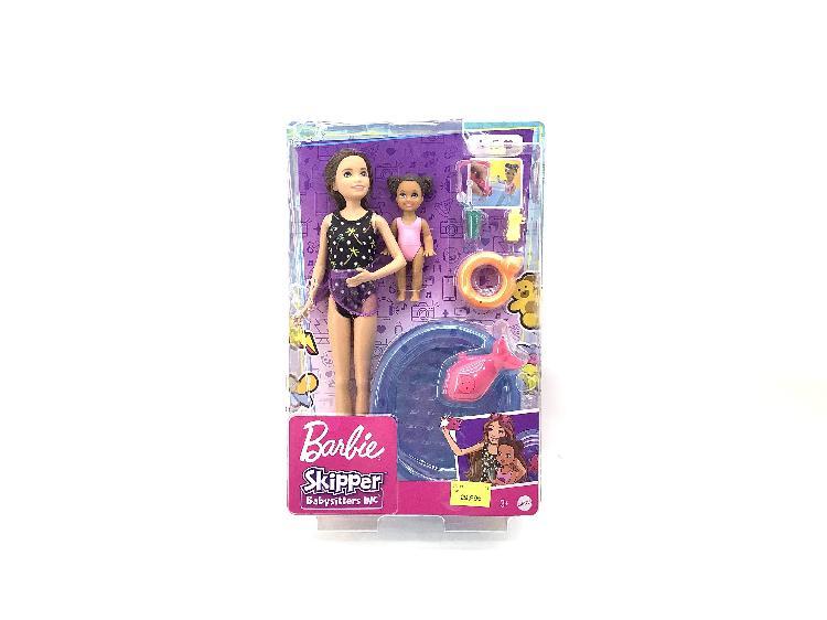 Figura accion mattel barbie skipper