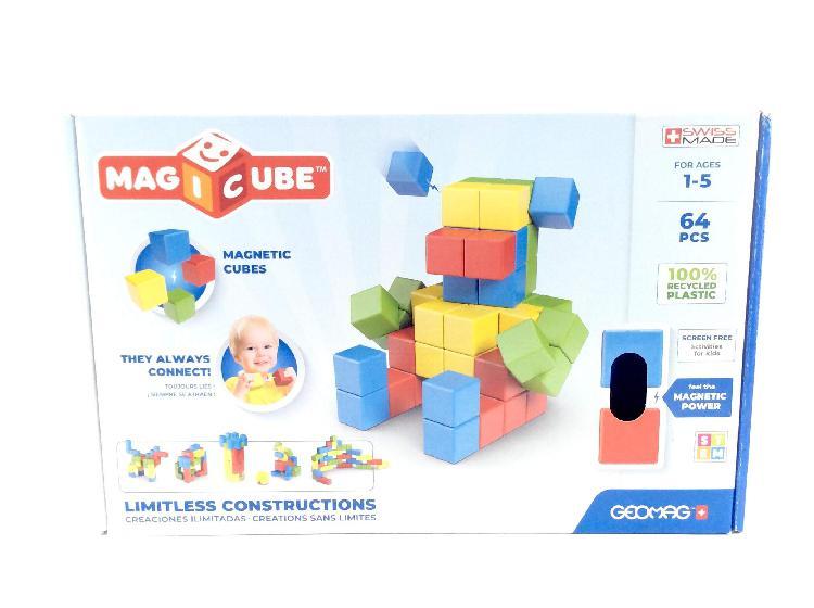 Juego de construccion geomag 1 a 5 aã'os (64 piezas)