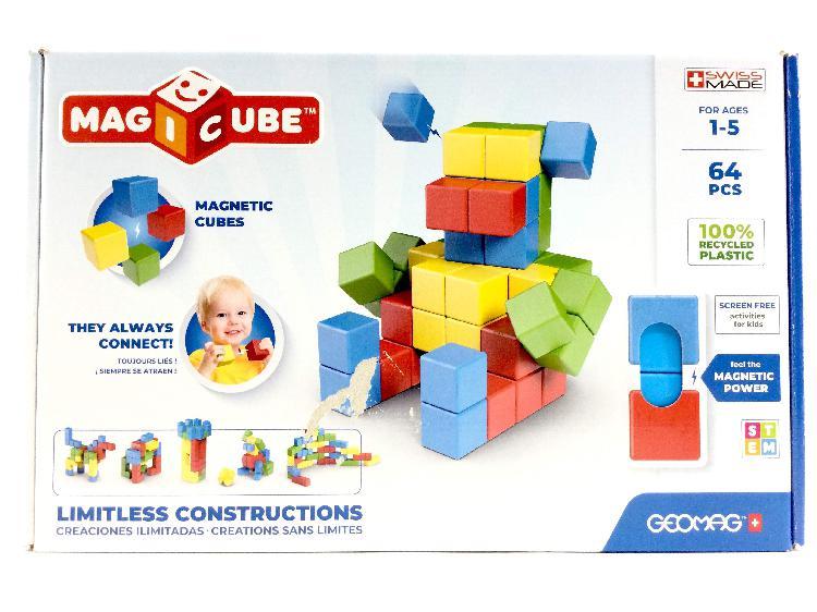 Juego de construccion geomag 64 piezas (1-5 aã'os)