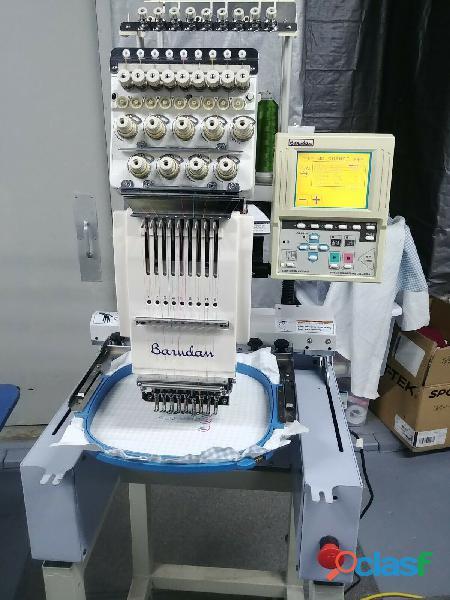 2003 Barudan BEDT ZN 101 Máquina de bordar Ley Tajima SWF