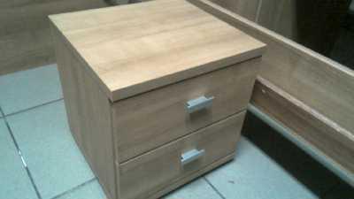 Compre la oportunidad de cabecera 2 cajones,, madera look