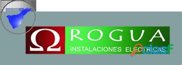 Empresa de Electricidad ROGUA INSTALACIONES S.L.