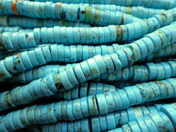 Aaa natural howlite turquesa gema preciosas abalorios, 8mm,