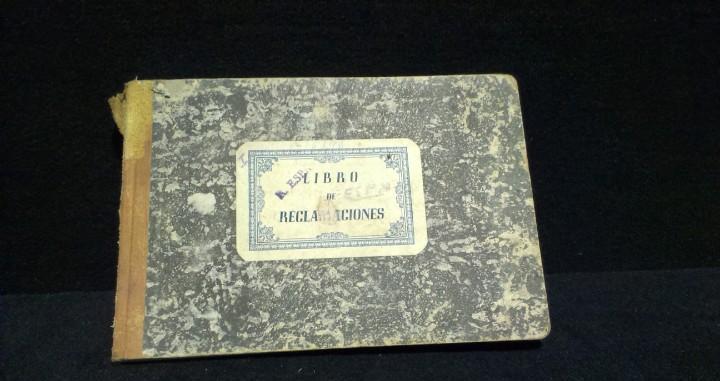 Libro de reclamaciones del vehiculo - chevrolet - años 40 -