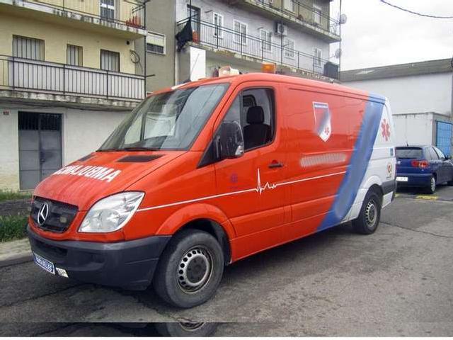 Mercedes 315 Cdi Ambulancia L2h1 Ambulance '09