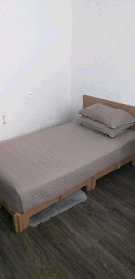 REGALO Base de cama y colchón individual