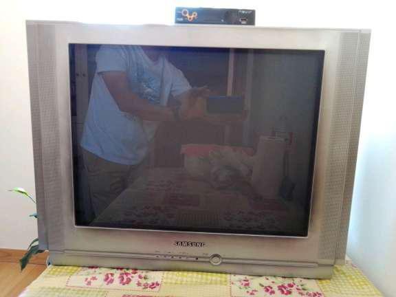 REGALO Televisión Samsung de tubo de 25 pulgadas + TDT