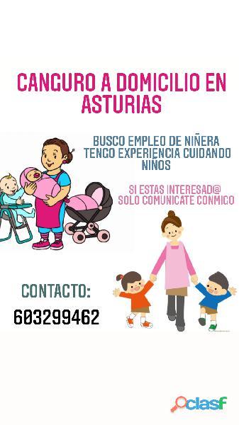 BUSCO EMPLEO DE NIÑERA