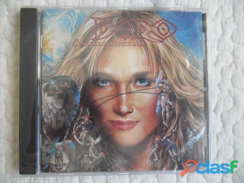 DORO ANGELS NEVER DIE CD