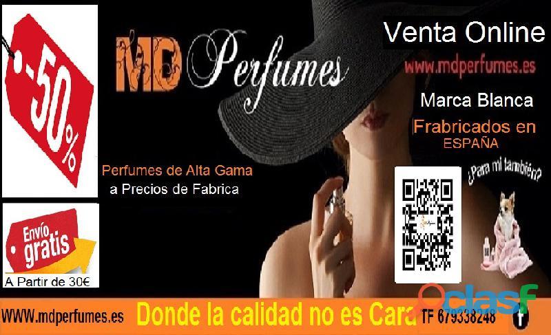 Oferta 10€ Perfume Mujer NACISE RODRI nº03 Alta Gama Equivalente 100ml 1