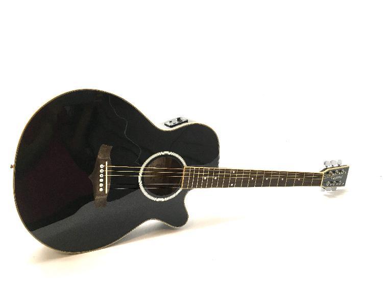 Guitarra acustica tanglewood tsf ce bk