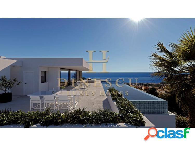 Exclusiva y lujosa villa superior con vistas al mar y gran piscina infinita 1