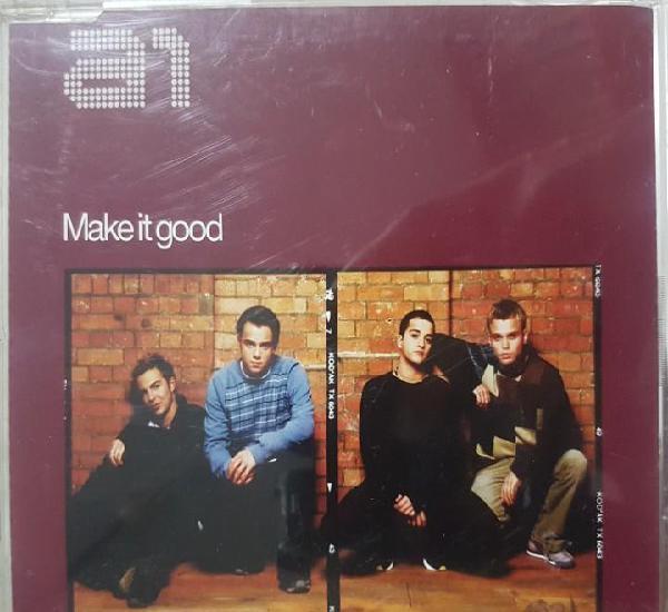 A1 - make it good - cd promocional - sony music 2002