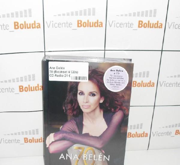 Ana belén 70 (bookset 4 cds) nuevo y precintado envió