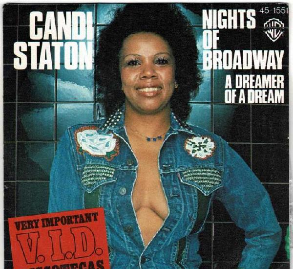 Candi staton - nights of brodway / a dreamer of a dream.