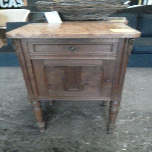 Compre la oportunidad de mueble auxiliar,, madera mármol