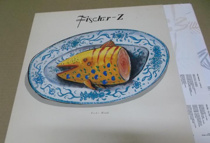 Fisher z (lp) fish head año – 1989 – encarte con letras