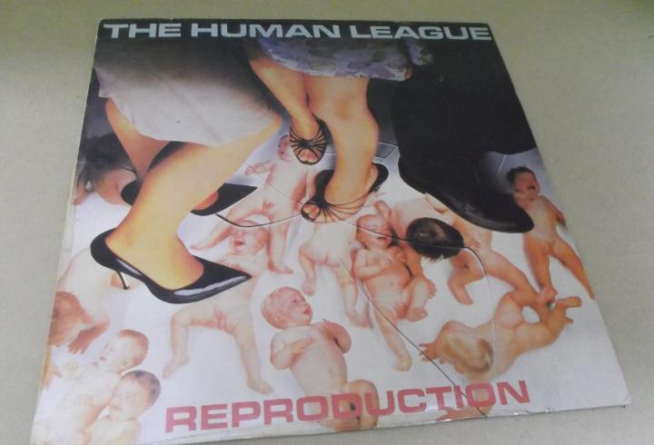Human league (lp) reproduction año – 1983