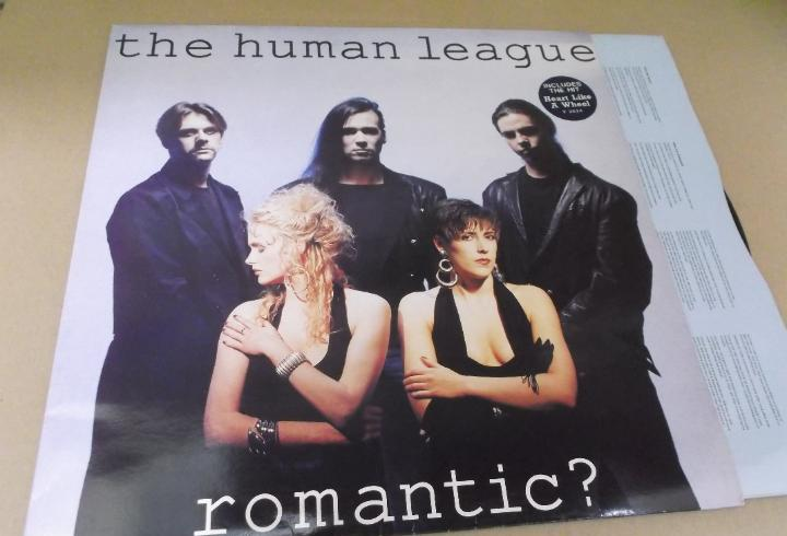Human league (lp) romantic año – 1989 – ediccion u.k. -
