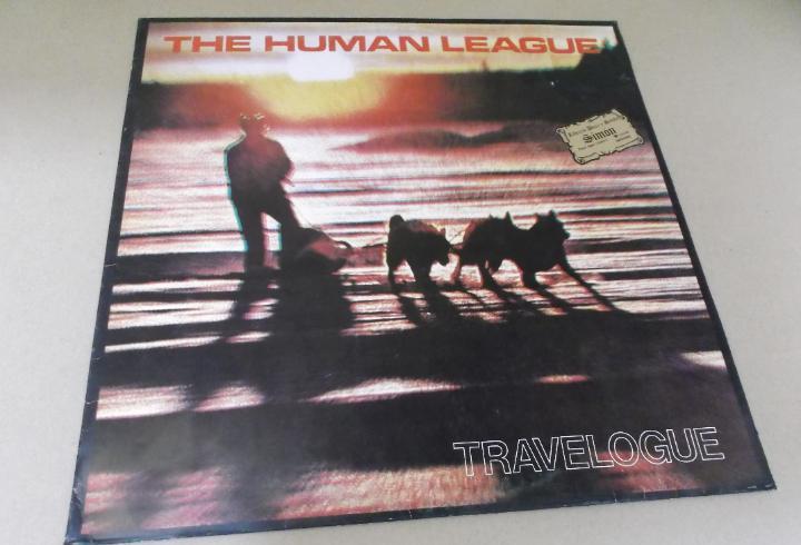 Human league (lp) travelogue año – 1982
