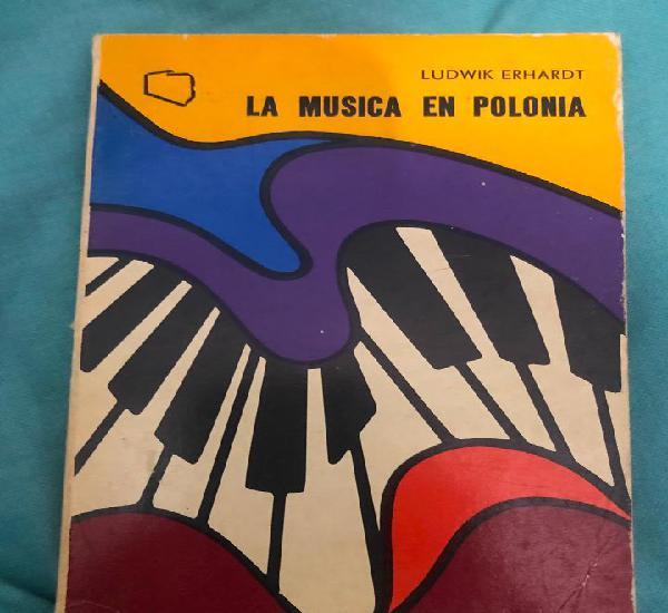 Libro la musica en polonia ludwik erhardt chopin historia de