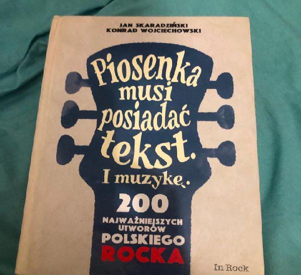 Libro rock polaco polonia europa europeo canciones polacas