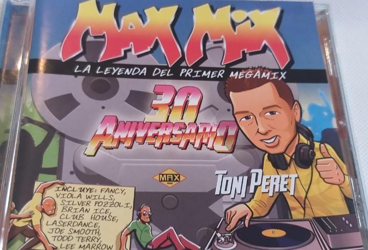 Max mix - la leyenda del primer megamix 30 aniversario (toni